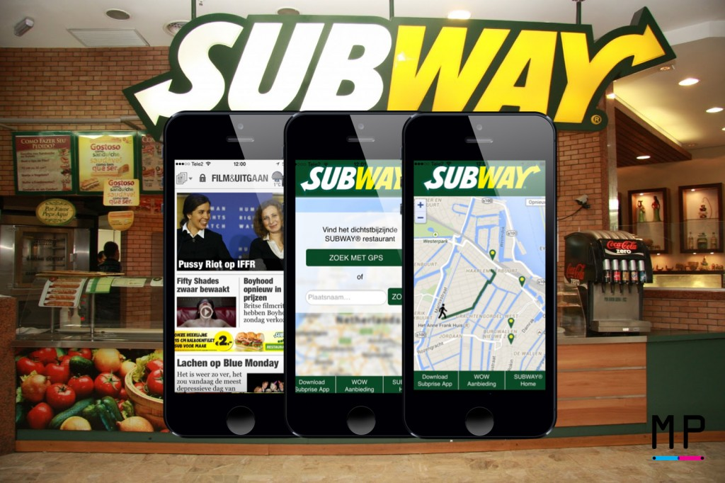De Always-On Subway campagne.