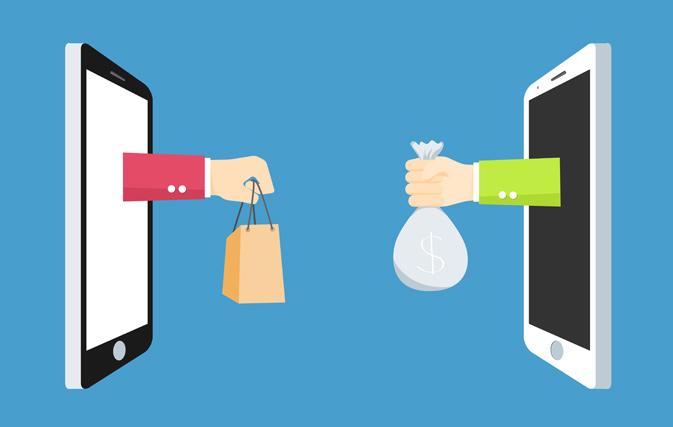 Lead generatie op mobiel. Formulier in mobiele banner
