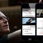 De mobiele advertentie van Steve Jobs
