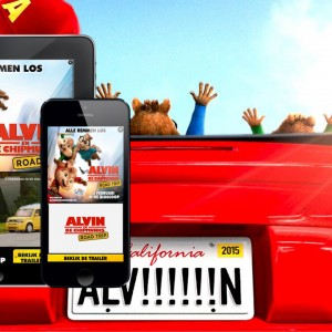 Warner Bros Alvin & The Chipmunks Mobile advertising Mobiel Adverteren Smartphone Tablet