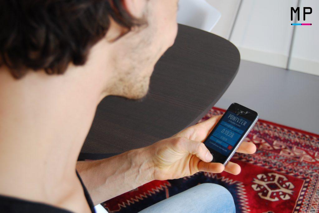 De mobiel van kees_overshoulder