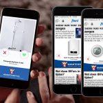 Warmteservice: interactieve mobiele banner