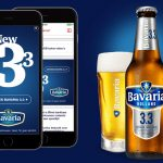 Bavaria stilt de dorst met mobile vertical video