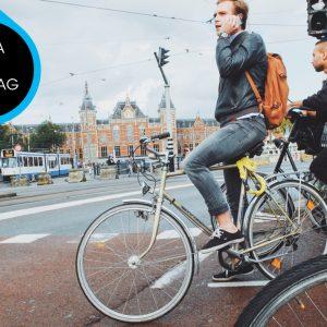 MobPro, Mobile Professionals, fietsen, op smartphone, tijdens fietsen, op mobiel, data op dinsdag