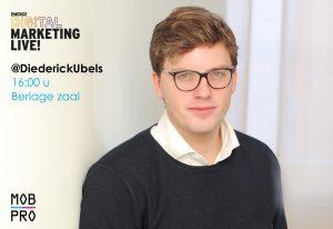 Diederick Ubels Digital Marketing Live DML 2017 Mobile