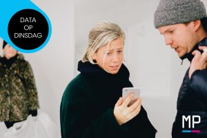 MobPro, Mobile Professionals, Data op Dinsdag, vrouw meer op smartphone dan man