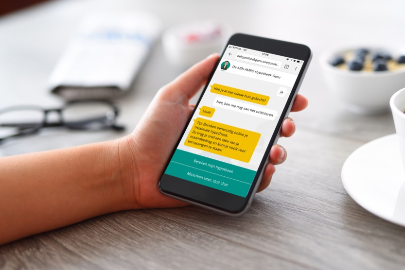 abn amro, conversational, advertising, mobile, advertising,