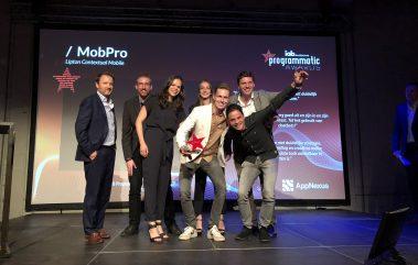 mobpro awards IAB programmatic mobile