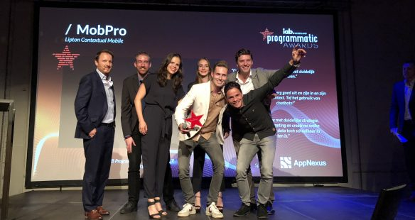 mobpro awards IAB programmatic mobile