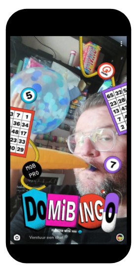 Samenwerken Snapchatfilter