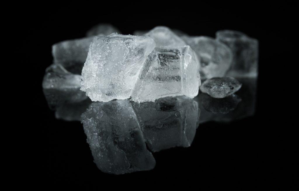 Blokjes ijs